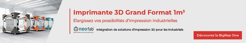 Imprimante 3D Grand Format BigRep One