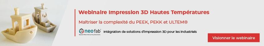 Webinaire Impression 3D PEEK