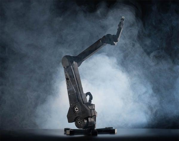 impression 3D bras robot