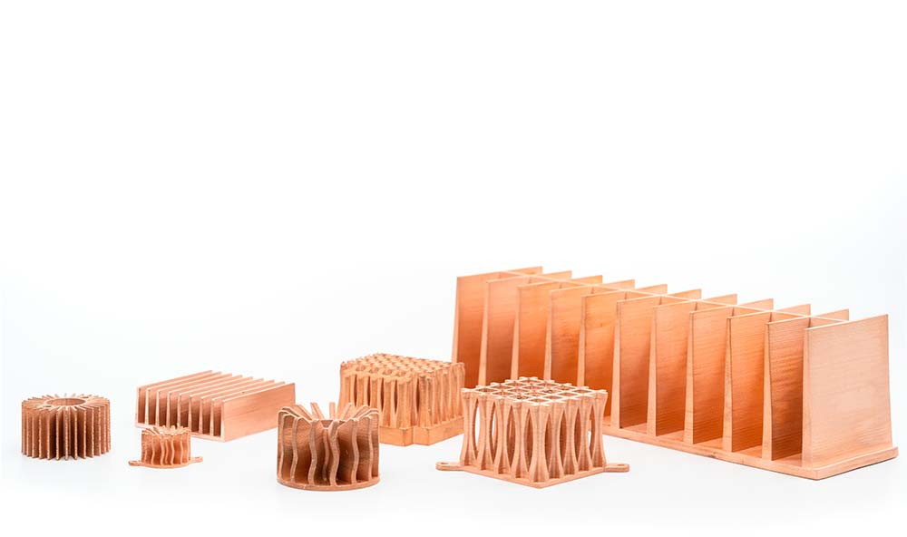 imprimante 3D cuivre