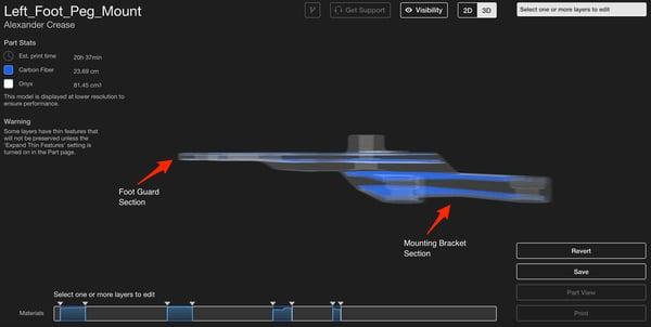 renforcement selectif impression 3D